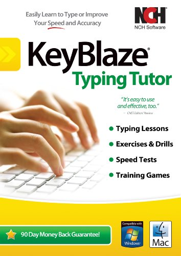 KeyBlaze Typing Tutor Software to Learn to Type with Lessons, Exercises or Games [Download] (Keyboard Instruction Software)