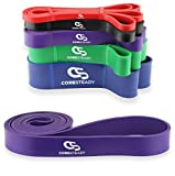 Coresteady Resistance Bands | Assisted Pull Up Band | Exercise Workout Bands for CrossFit – Powerlifting – Yoga – Stretch Mobility Exercise (One per sale) for Men and Women For Sale
