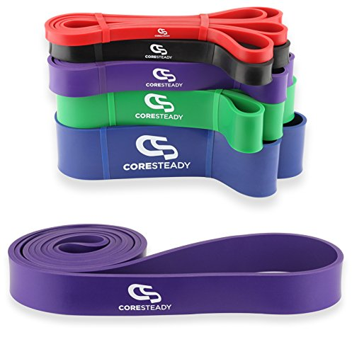 Coresteady Resistance Bands | Assisted Pull Up Band | Exercise Workout...