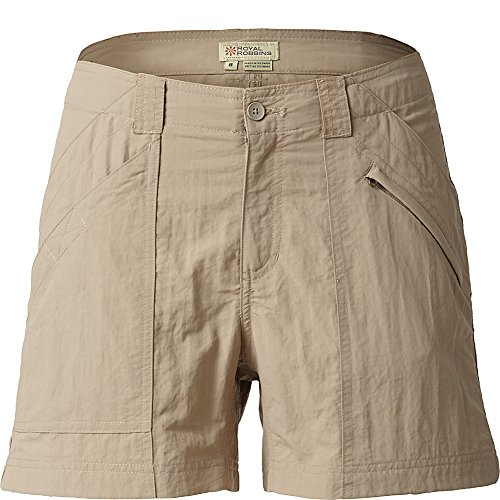 Royal Robbins Women's Backcountry Short (Khaki,KHAKI -