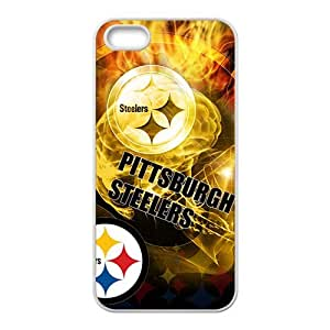 Happy pittsburgh steelers logo Phone Case for Iphone 5s