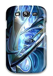 High Grade Eric S Reed Flexible Tpu Case For Galaxy S3 - Artistic