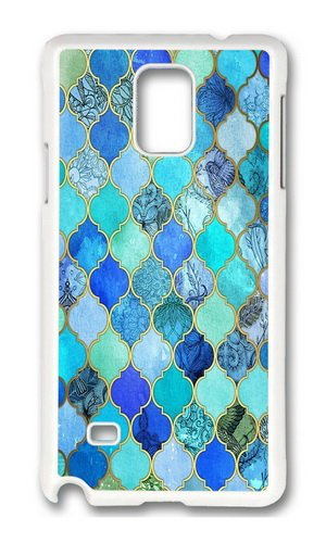 samsung-galaxy-note-4-case-color-works-cute-cobalt-blue-aqua-gold-decorative-moroccan-tile-pattern-p