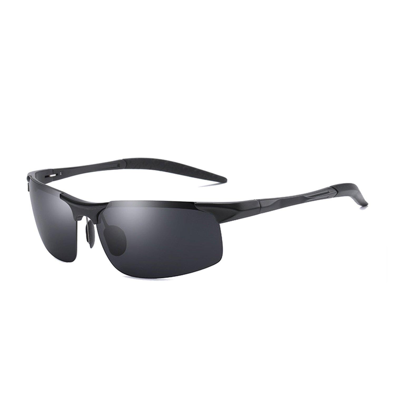 Anmery Mens Sports Polarized Sunglasses 100% UV protection Lens Sturdy Frame Ultra Light