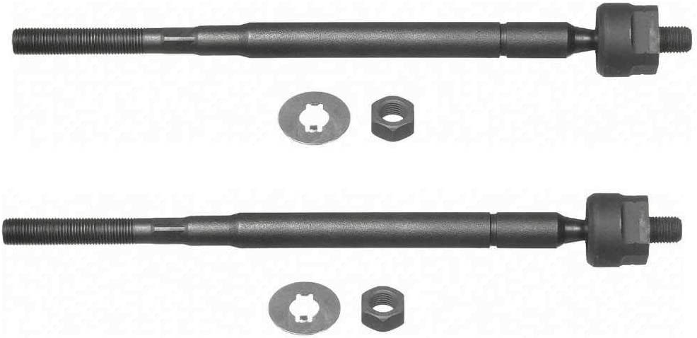 AutoShack TRK3195PR Pair of Inner Tie Rods 2 Pieces Fits Driver and Passenger Side