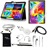 DigitalsOnDemand ® 10-Item Accessory Bundle Kit for Samsung Galaxy Tab S 10.5-Inch Tablet (10.5