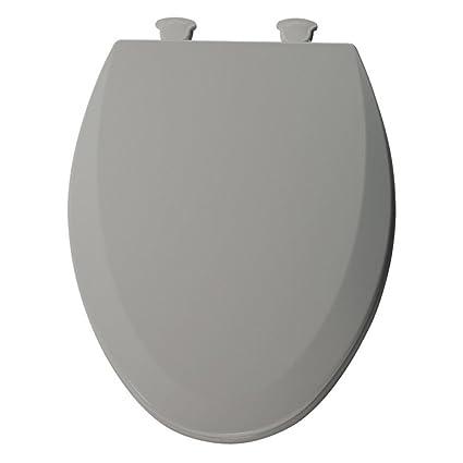 Super Molded Wood Elongated Toilet Seat Finish Ice Gray Uwap Interior Chair Design Uwaporg