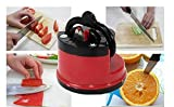 1PCS Professional Chef Pad Kitchen Sharpening Tool Knife Sharpener Scissors Grinder Secure Suction sharpener for knives
