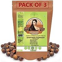 Hollywood Secrets 100% Organic Shikakai Powder For Hair Growth Pack Of 3 (100 Gms)