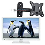 Supersonic SC-1511 White 15.6' 1080p LED HDTV with HDMI & USB Input + Wall Mount