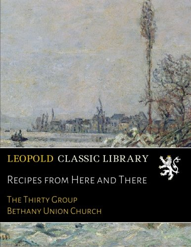 Recipes from Here and There pdf epub