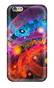 Brand New 6 Defender Case For Iphone (fractal Background)(3D PC Soft Case)