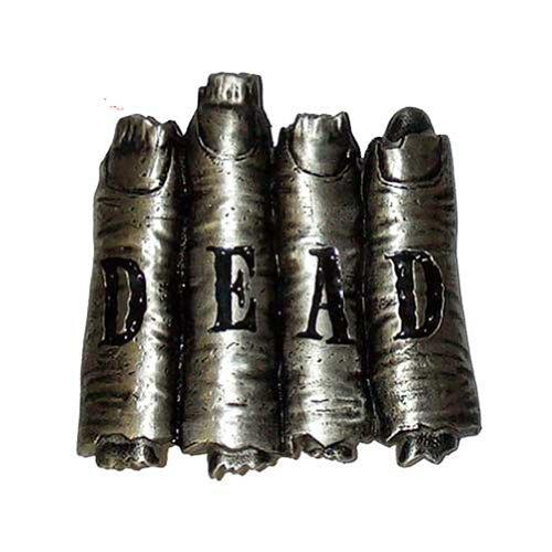 Kreepsville 666 Dead Fingers Belt Buckle (Hand Belt Buckle)