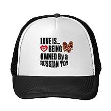 PUG DOG The more people I meet I love my Adjustable Trucker Hat Cap