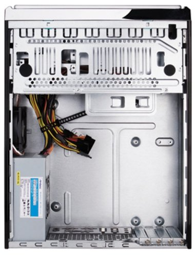 Antec Minuet 350 MicroATX Slim Case Computer Case 350 Watt 80 PLUS Power Supply by Antec (Image #3)'