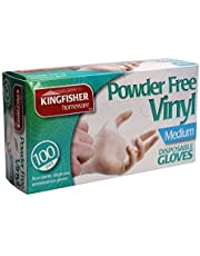 King Fisher Powder Free Vinyl Disposable Gloves