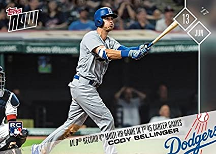 Amazoncom 2017 Topps Now Baseball 246 Cody Bellinger Rookie Card