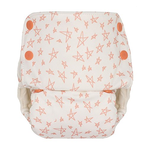 Image of the GroVia One Size All In One Grapefruit Stars