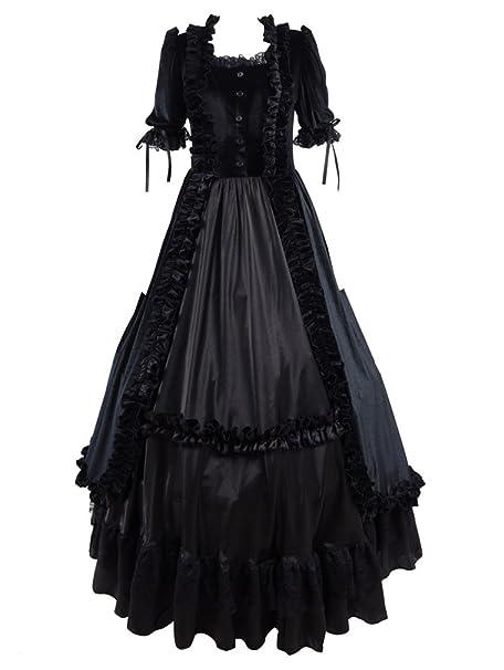 Amazon.com: Very Last Shop - Vestido de terciopelo para ...