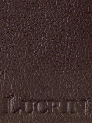 Lucrin - Ledertasche Apple iPhone 5/ 5s - Braun - Leder genarbt