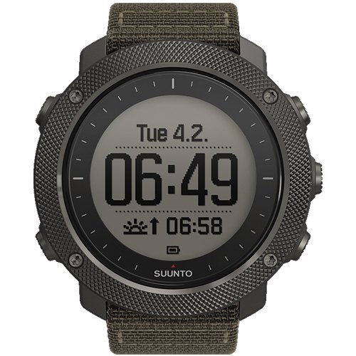Suunto Traverse Alpha Hunting & Fishing Watch (Fishing Moon Phase Watch)