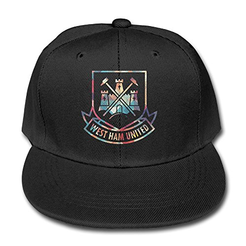 ^GinaR^ 140g West Ham United F.c. 3 Unisex Unisex Fashion Cotton Adjustable Baseball Cap - Black (Keurig 140 Coffee Maker compare prices)