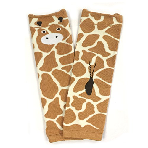 Wrapables Animals and Fun Colorful Baby Leg Warmers, Giraffe