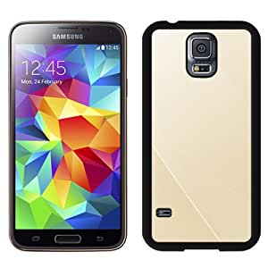 Simple Line Champaign Durable High Quality Samsung Galaxy S5 Case