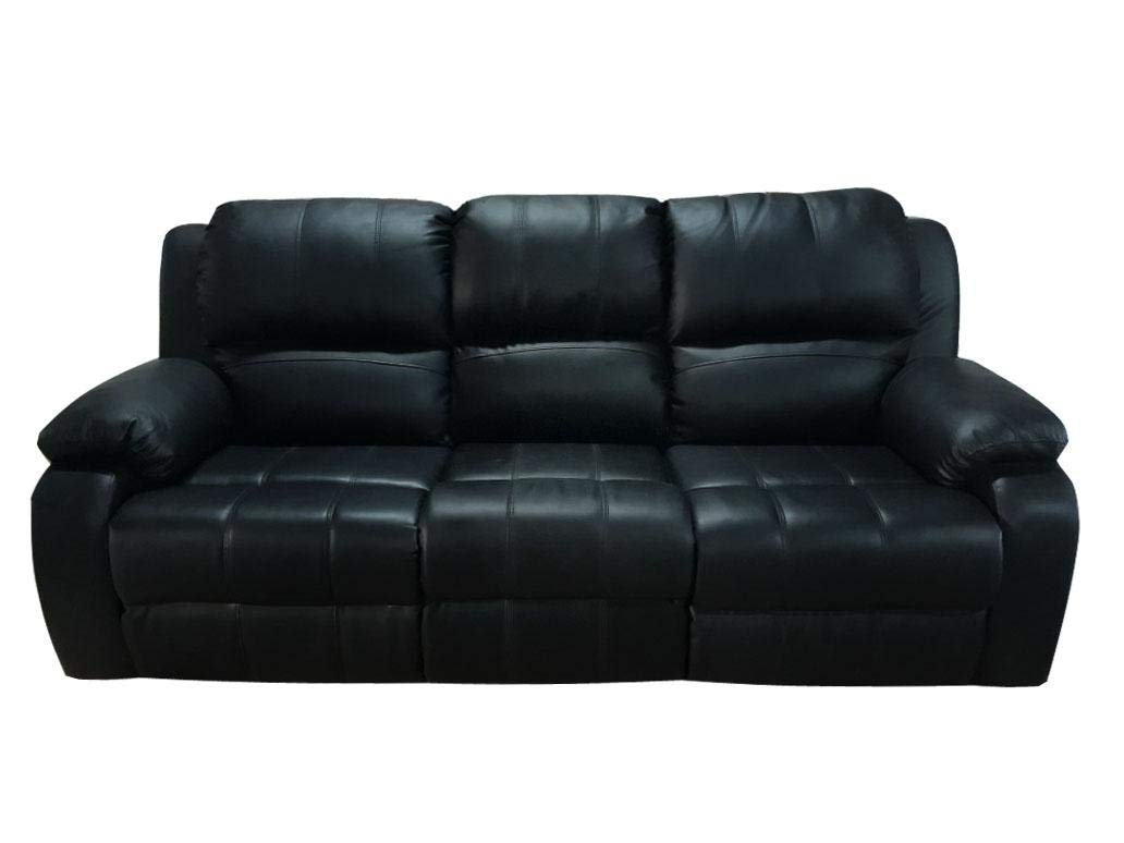 Super 3 Seater Recliner Sofa Black Leather Price In Uae Amazon Pabps2019 Chair Design Images Pabps2019Com
