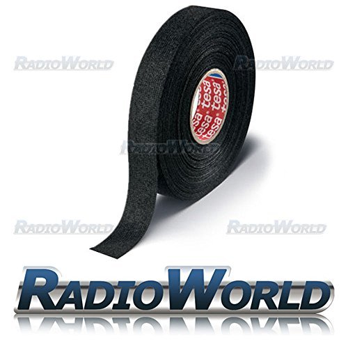 Tesa 15mm 25m Roll Adhesive Wiring Harness Loom Tape Radioworld CSTAPE02