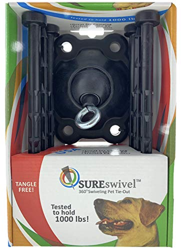 SUREswivel 360 degree Swiveling Pet Tie-Out