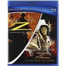 Pack La Mascara Del Zorro + La Leyenda Del Zorro (Blu-Ray) (Import Movie) (European Format - Zone B2) (2011) A