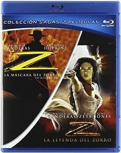 Pack La Mascara Del Zorro + La Leyenda Del Zorro [Blu-ray]