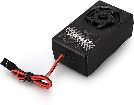 GT Power Illuminazione e Sistema di Vibrazione vocale Kit ricambi per Auto RC per Tamiya RC4WD Accessori per Veicoli RC per trattori Modulo di Comando