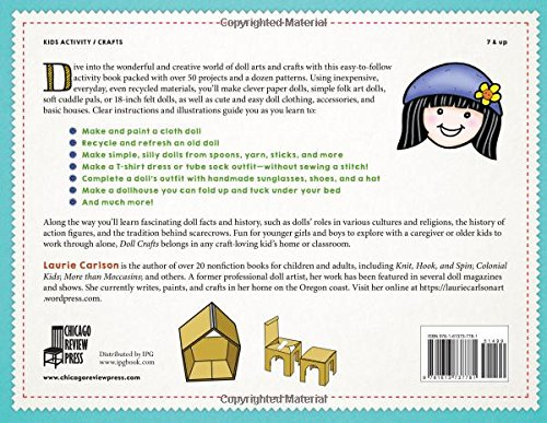 Doll Crafts A Kid S Guide To Making Simple Dolls Clothing