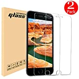 iPhone 8 Plus 7 Plus 6S Plus 6 Plus Screen Protector, Automoness 9H HD Ultra Clear iPhone 8 Plus 7 Plus Tempered Glass Screen Protector for Apple iPhone 8 Plus,7 Plus,6S Plus,6 Plus, 5.5″ (2-Pack)