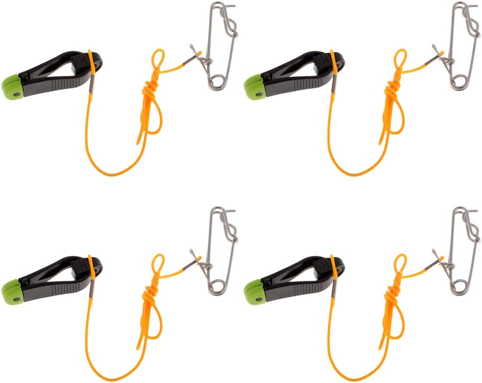 Long Line Snap Mini Power Grip 17 Leader LEIPUPA 4pcs Downrigger Release Clips