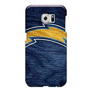 Tpu Case Cover For Sumsang Galaxy S6 Edge Strong Protect Case - San Diego Chargers Design