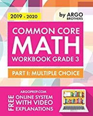 This book is your comprehensive workbook for 3rd Grade Common Core Math.  By practicing and mastering this entire workbook, your child will become very familiar and comfortable with the state math exam and common core standards. This 3rd Grad...