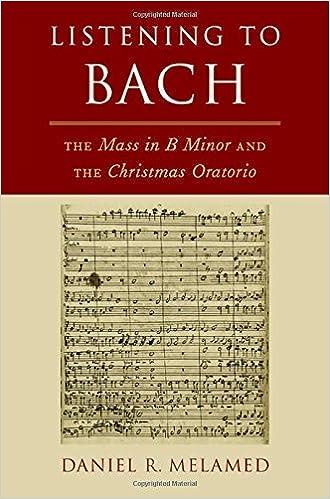 Exploring Bachs B-minor Mass