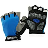 GEARONIC TM Cycling Workout Gloves Half Finger...