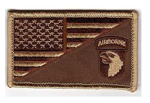 101st Airborne American Flag 2