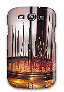 S3 Scratch-proof Protection Case Cover For Galaxy/ Hot Incense Sticks Phone Case