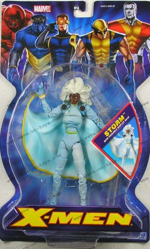 Marvel X-Men 7 Inch Action Figure - Storm with Poseable Display -