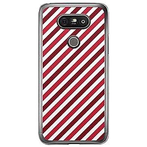 Loud Universe LG G5 Love Valentine Printing Files Valentine 58 Transparent Edge Case - Red & White