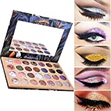 Ecosin 28 Color Starry Sky Shimmer Glitter Eye Shadow Plate Powder Diamond Matt Eyeshadow Palette
