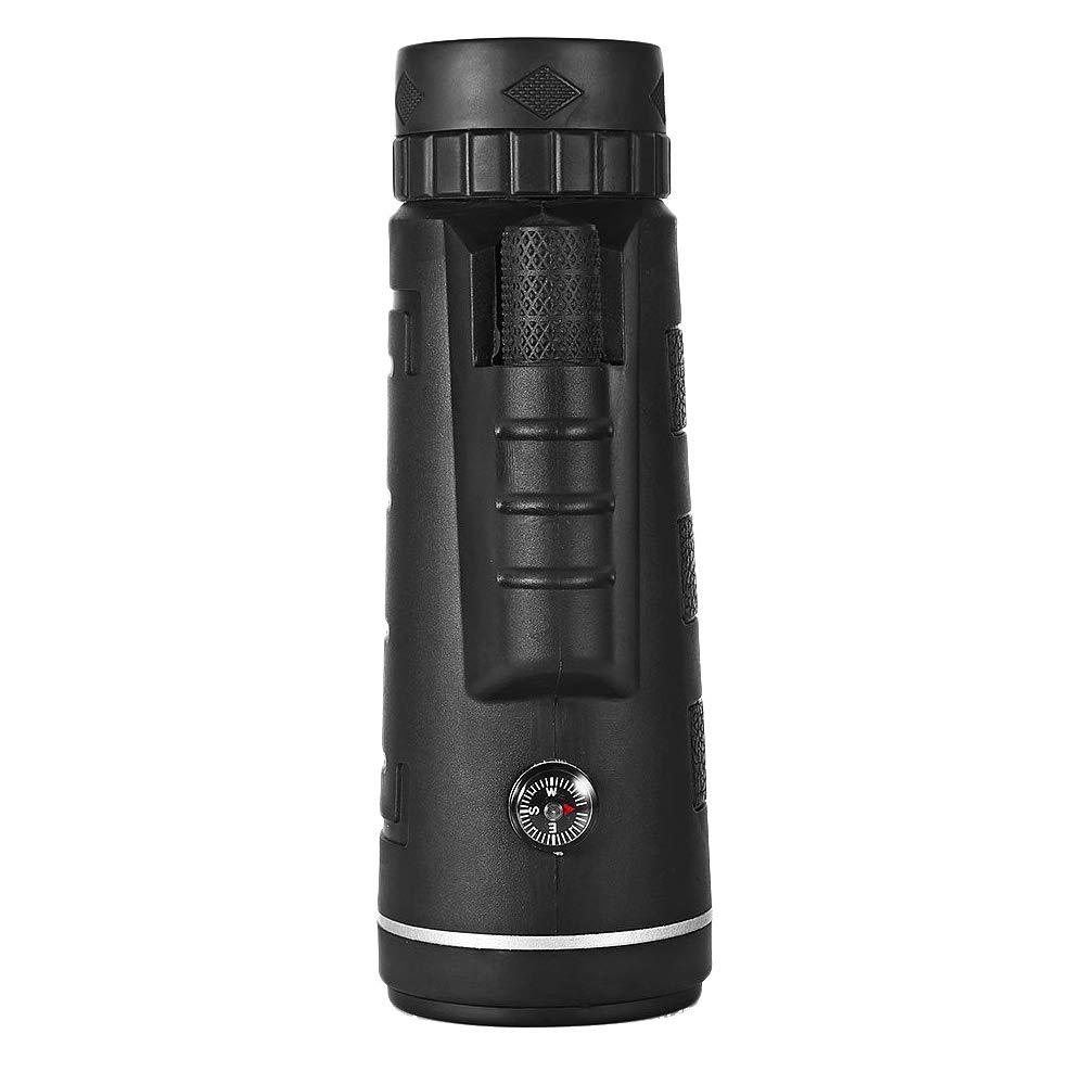 lecimo Power 40X60 Portable HD Optics BAK4 Night Vision Monocular Telescope