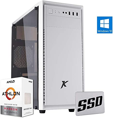 Pc de sobremesa AMD Ordenador ssd amd,Ram 8gb cpu 3.50Ghz Turbo ...