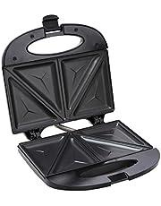 Swiss Home Sandwich Maker, Metaal, Kunststof, Elektrisch materiaal, Zwart, 30 x 30 x 30 cm