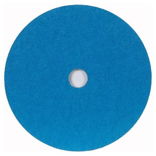 4 1/2'' × 1/4'' × 7/8'' ZA Fiber Disc 50 Grit Zirconia Alumina (Pack of 25)